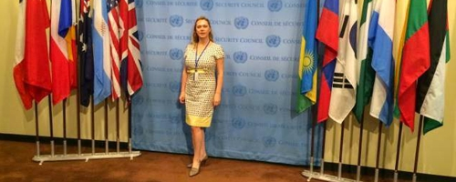 Russian MS Society heard in UN